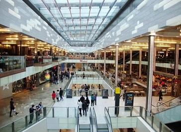 Atrium Shopping Centre in Greece