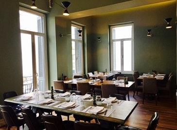 Balcony Restaurant and Bar in Greece