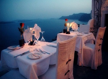 Ambrosia Restaurant in Santorini
