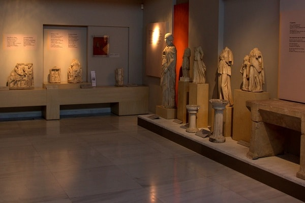 Archeological Museum of Thessaloniki in Greece