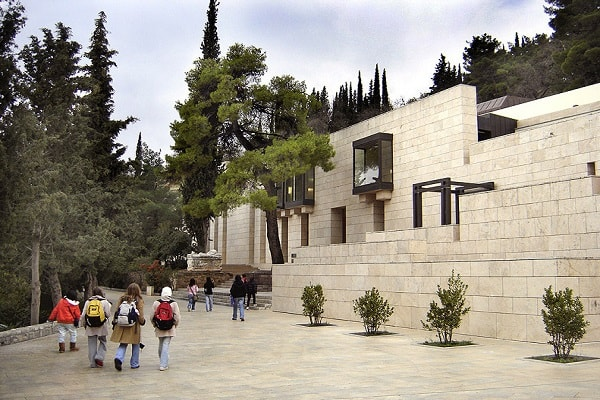 Archeological Museum of Delphi in Greece