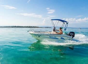 Get Wet Boat Rentals in Vourvourou
