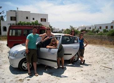 Tony's Car Rental in Santorini